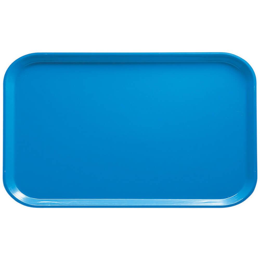 "Horizon Blue, 8-3/4"" x 15"" Food Trays, Fiberglass, 12/PK"