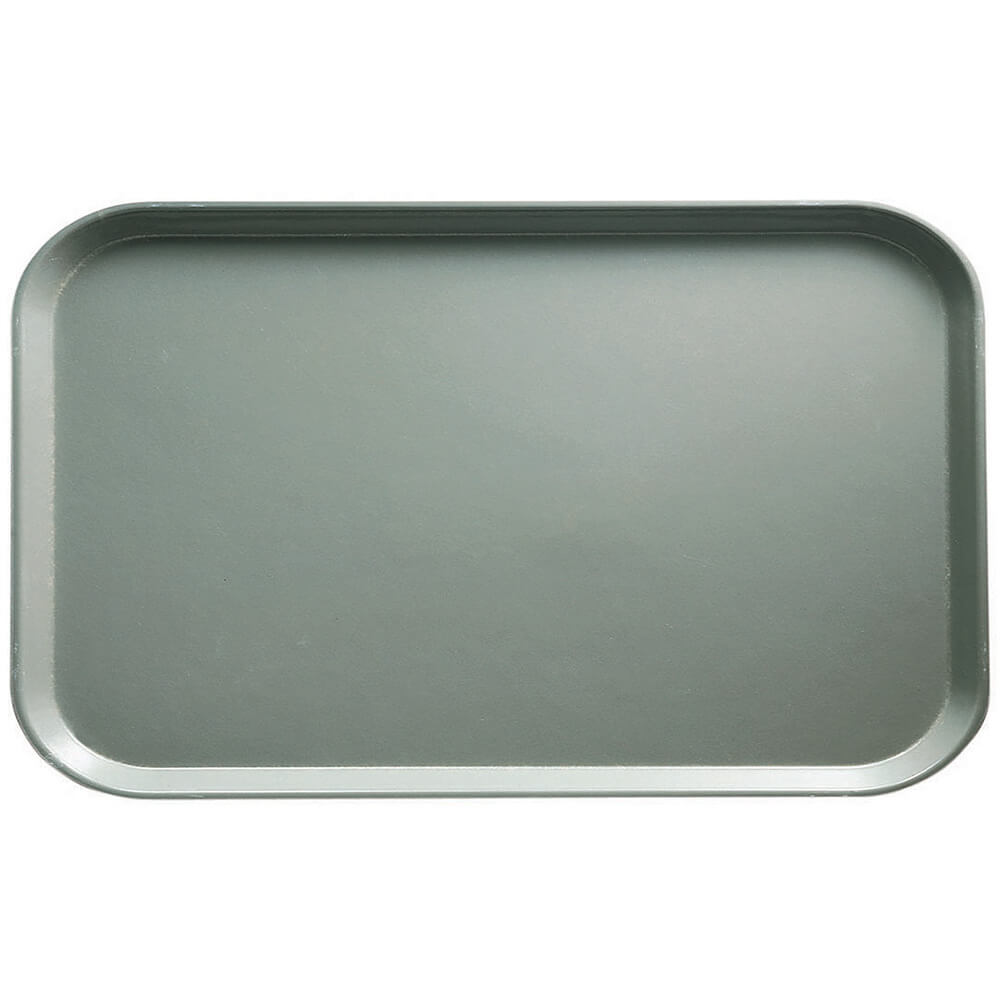 "Pearl Gray, 8-3/4"" x 15"" Food Trays, Fiberglass, 12/PK"
