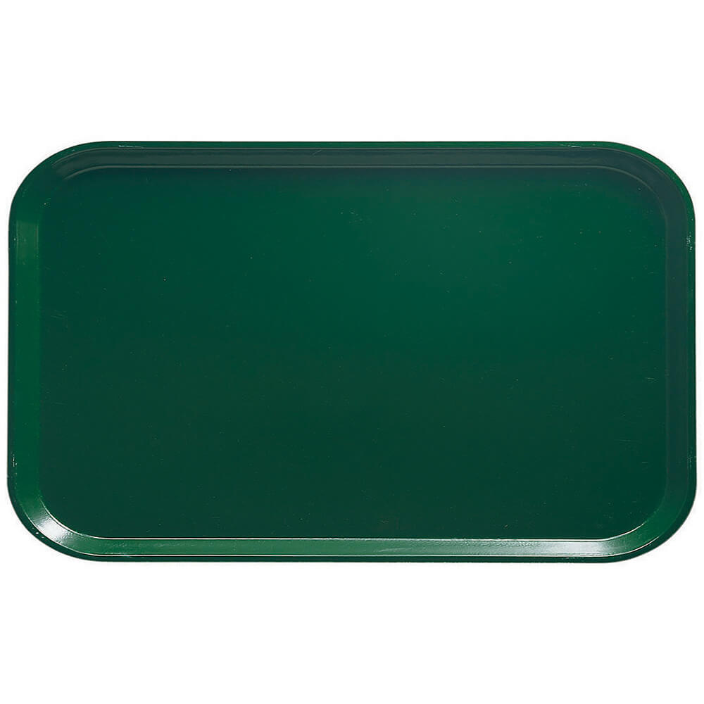 "Sherwood Green, 8-3/4"" x 15"" Food Trays, Fiberglass, 12/PK"