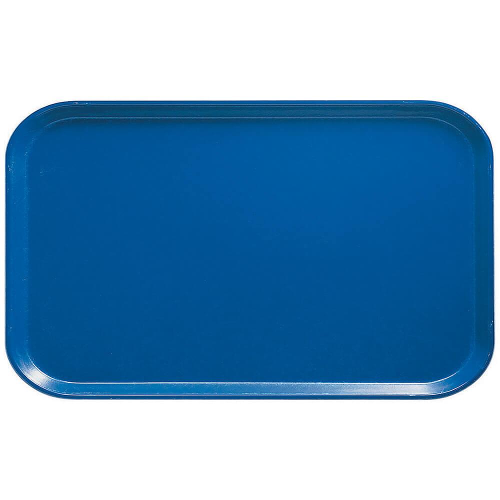 "Amazon Blue, 8-3/4"" X 15"" Food Trays, Fiberglass, 12/PK"
