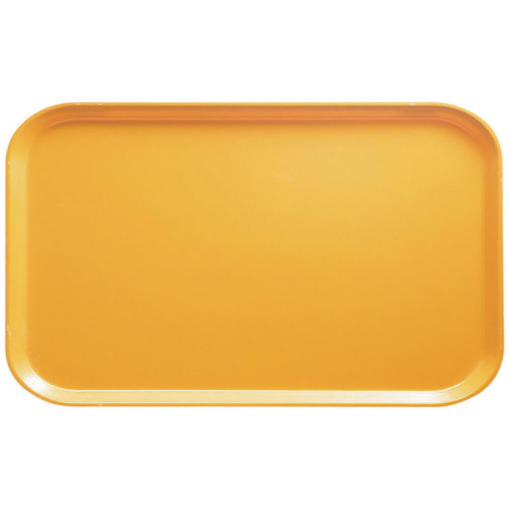"Tuscan Gold, 8-3/4"" x 15"" Food Trays, Fiberglass, 12/PK"