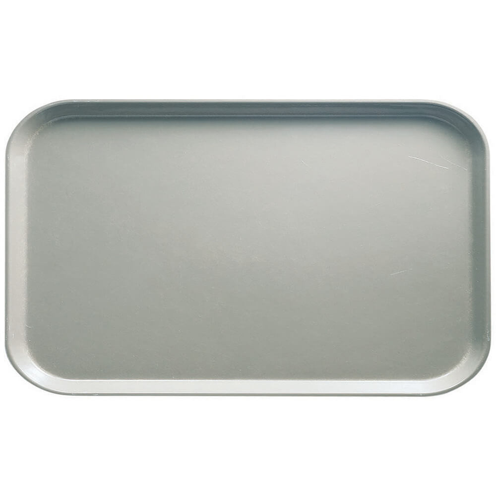 "Taupe, 8-3/4"" x 15"" Food Trays, Fiberglass, 12/PK"