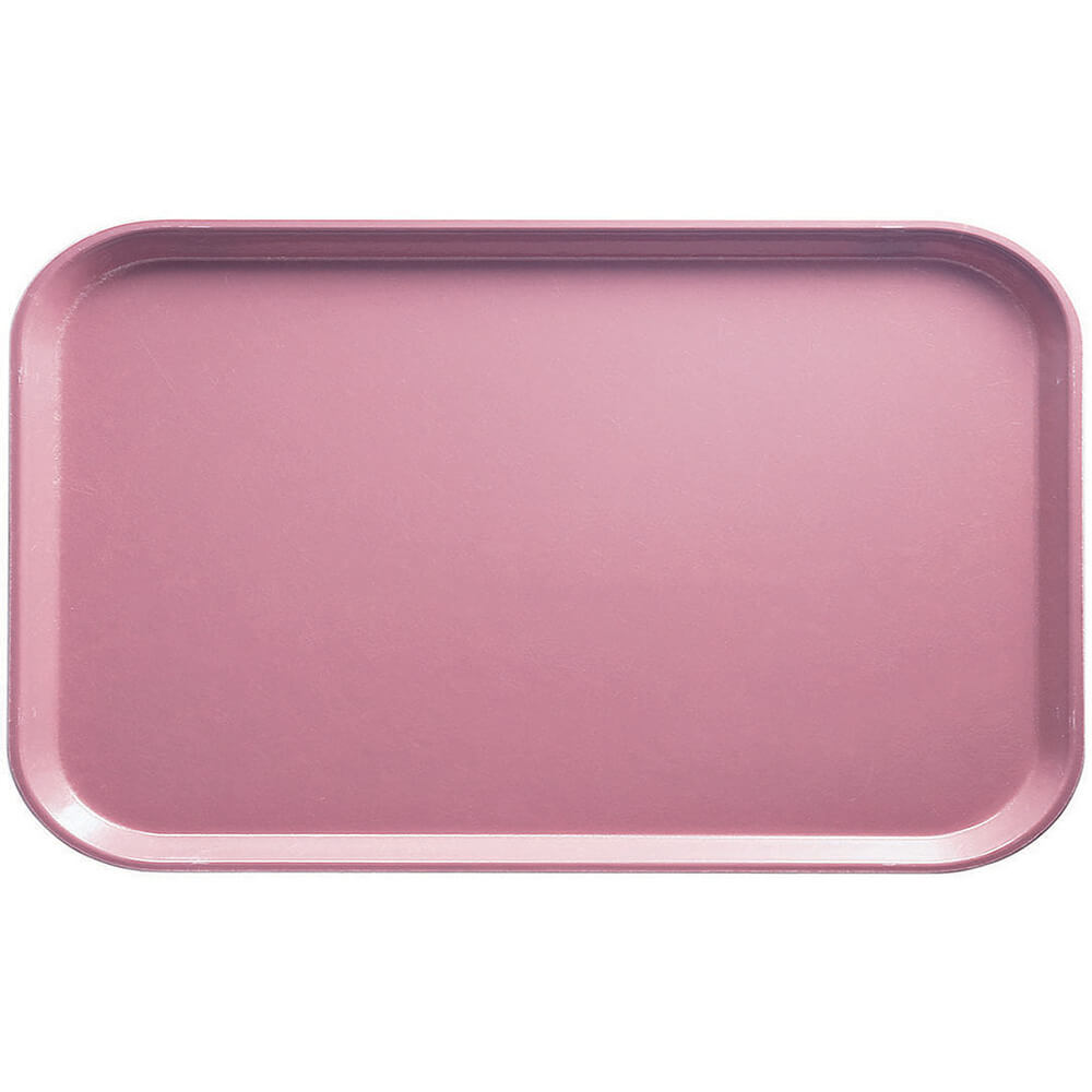 "Blush, 8-3/4"" x 15"" Food Trays, Fiberglass, 12/PK"
