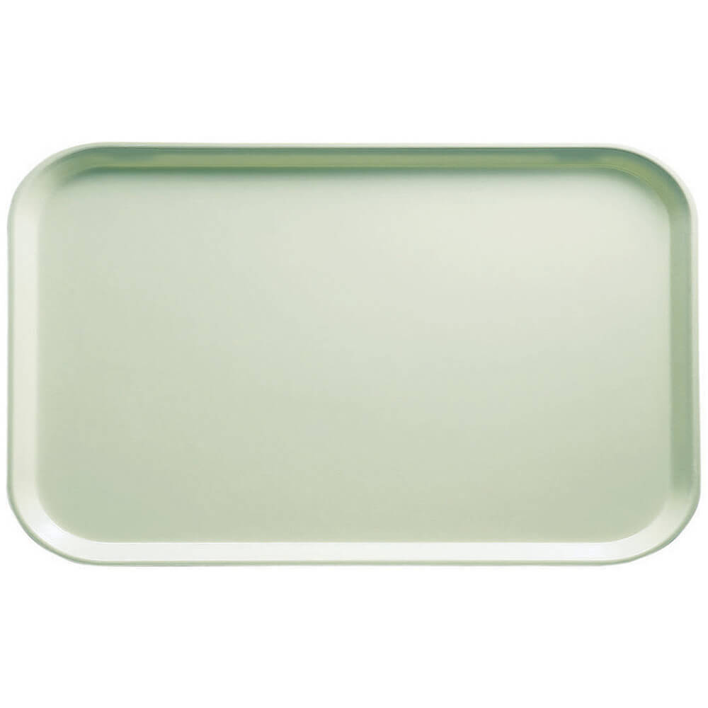 "Key Lime, 8-3/4"" x 15"" Food Trays, Fiberglass, 12/PK"