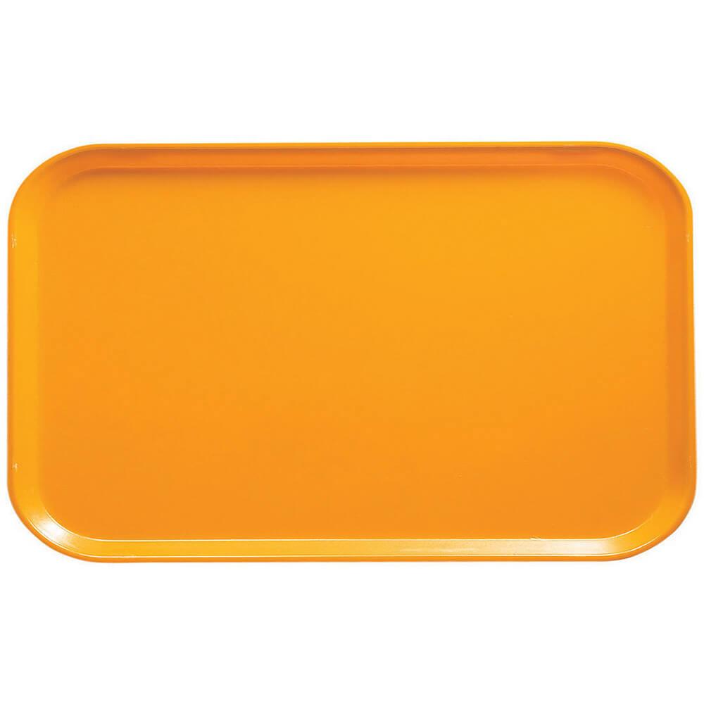 """Mustard, 8-3/4"""" x 15"""" Food Trays, Fiberglass, 12/PK"""