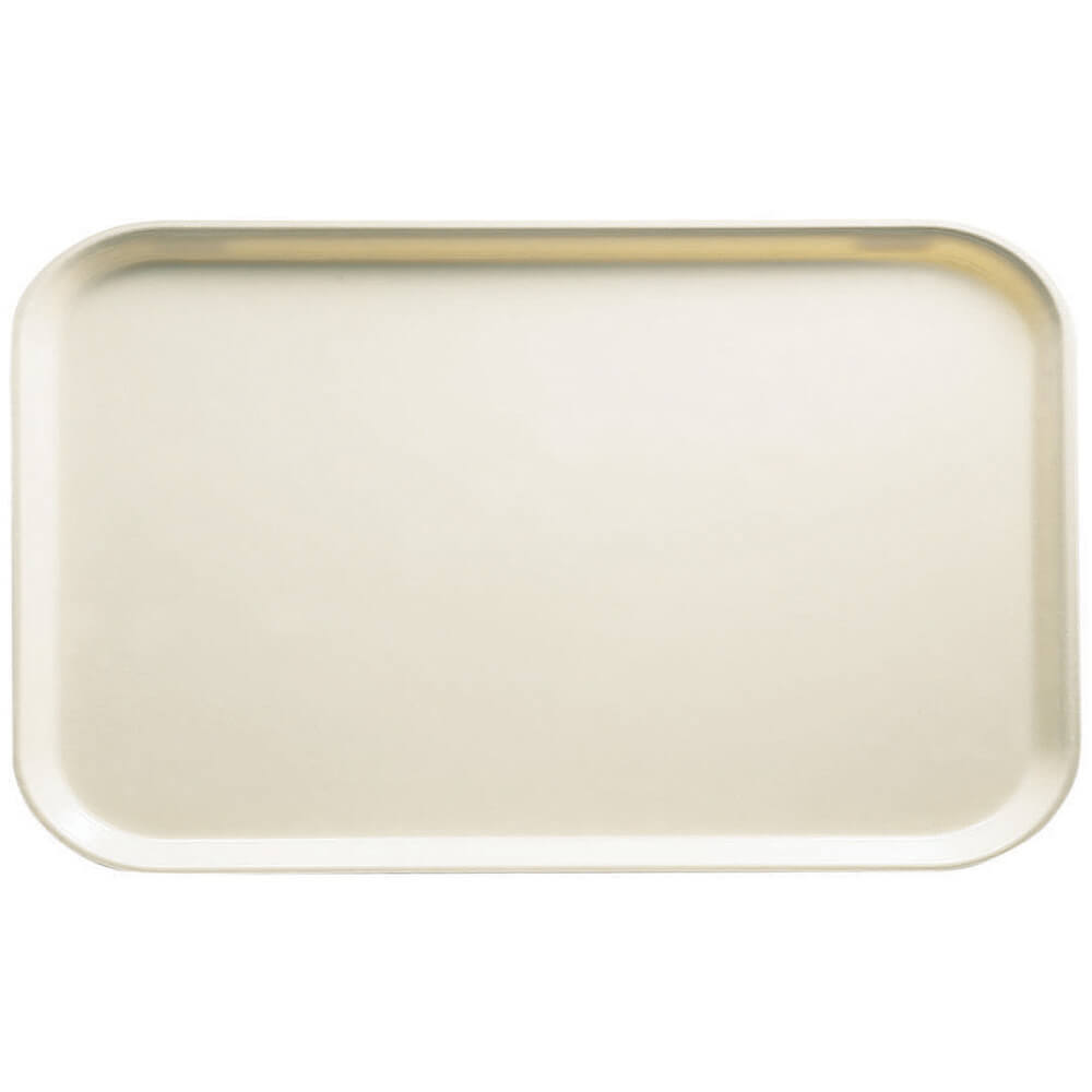 "Cottage White, 8-3/4"" x 15"" Food Trays, Fiberglass, 12/PK"