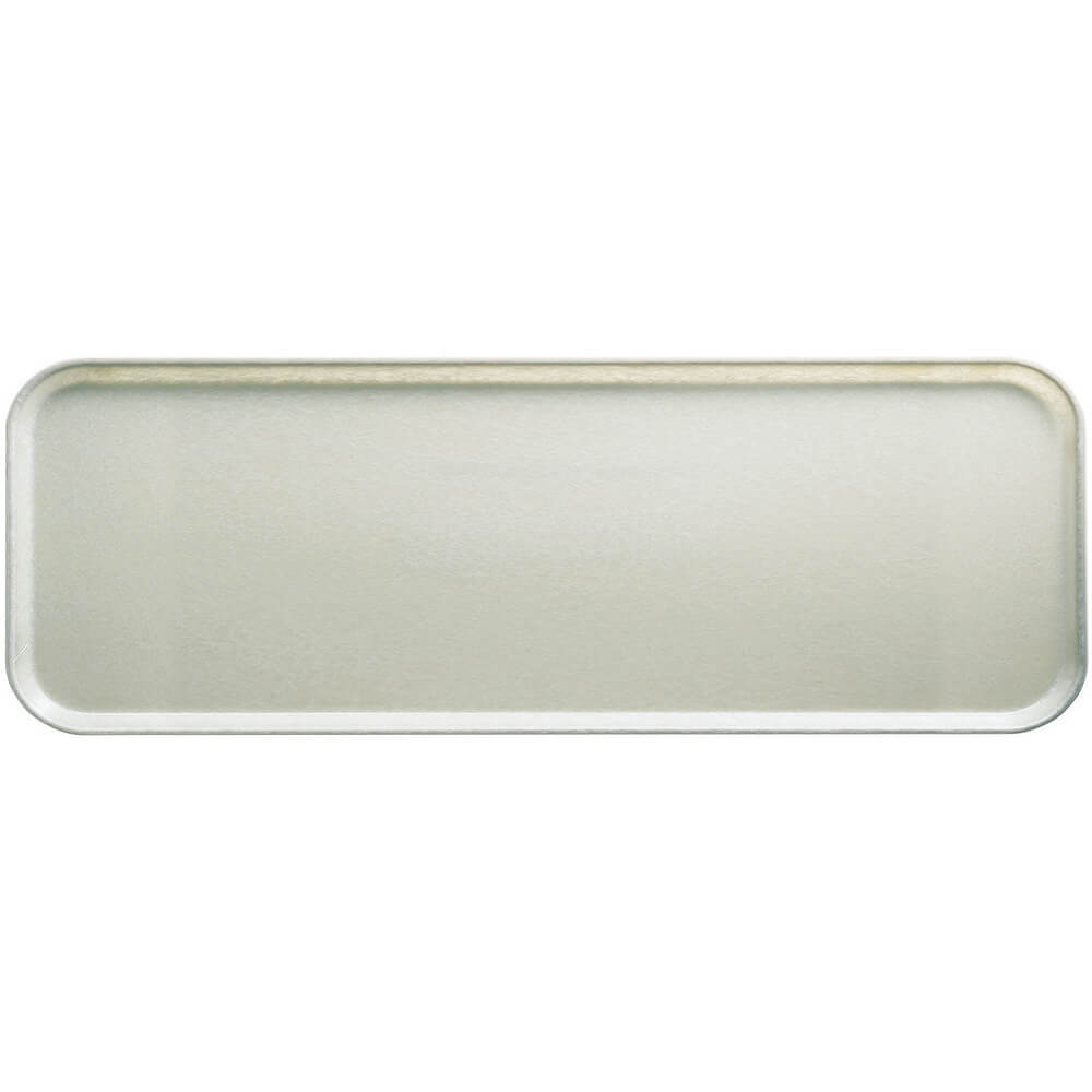 "Antique Parchment, 9"" x 26"" x 1"" Food Trays, Fiberglass, 12/PK"
