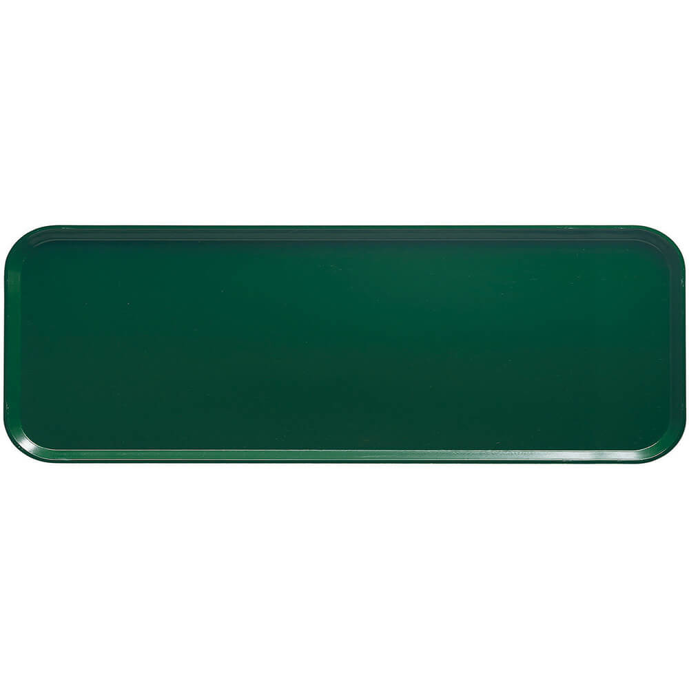 "Sherwood Green, 9"" x 26"" x 1"" Food Trays, Fiberglass, 12/PK"