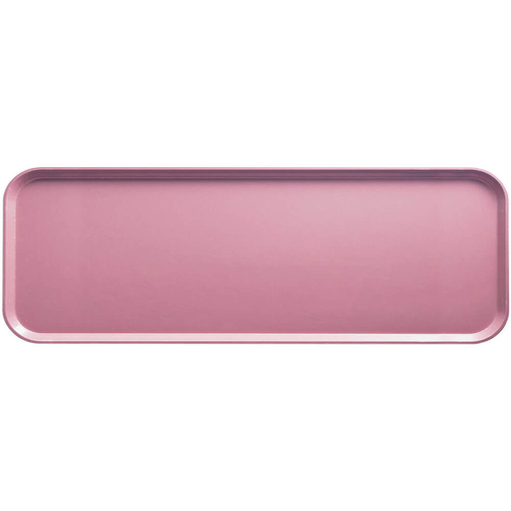"Blush, 9"" x 26"" x 1"" Food Trays, Fiberglass, 12/PK"