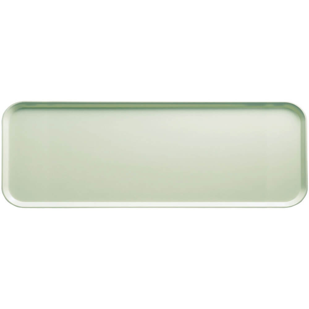 "Key Lime, 9"" x 26"" x 1"" Food Trays, Fiberglass, 12/PK"