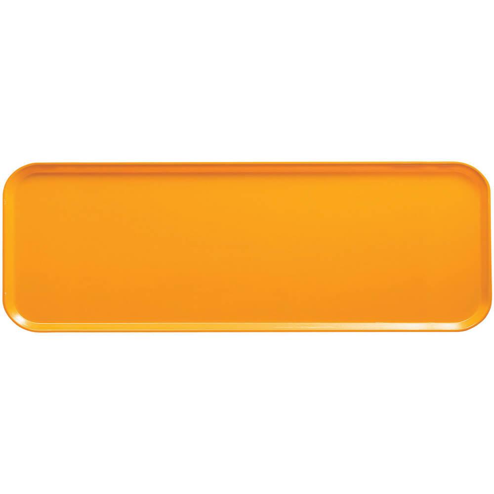 """Mustard, 9"""" x 26"""" x 1"""" Food Trays, Fiberglass, 12/PK"""