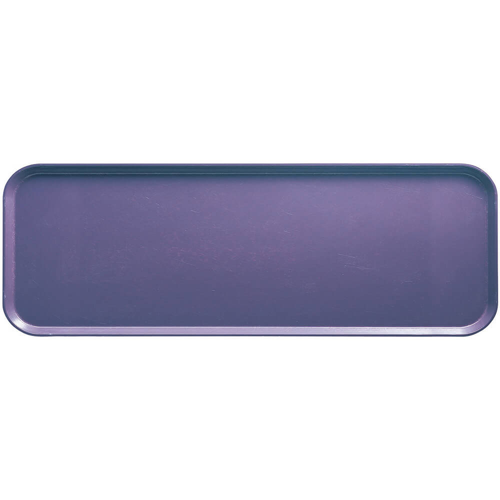 "Grape, 9"" x 26"" x 1"" Food Trays, Fiberglass, 12/PK"