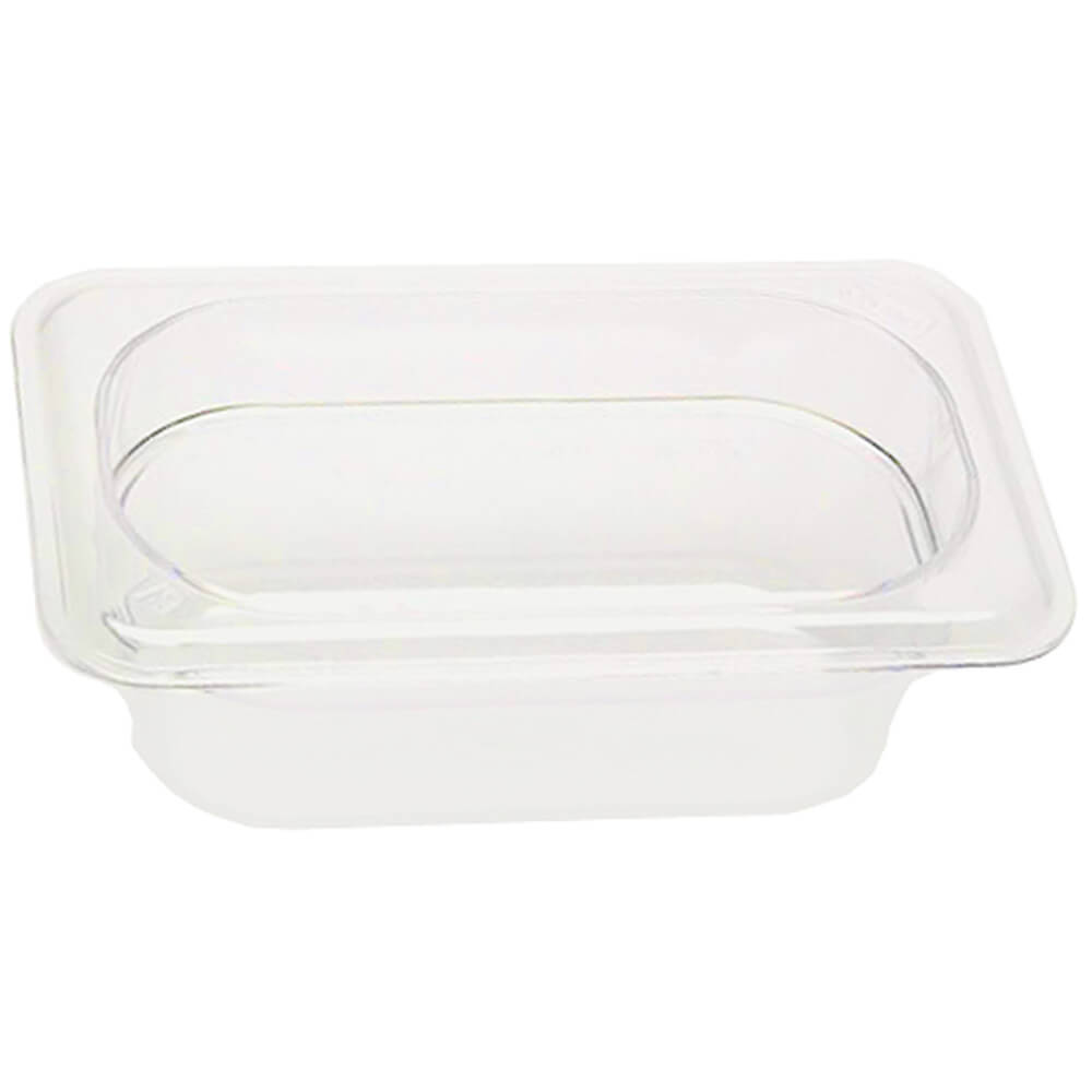 "White, 1/9 GN Food Pan, 2 1/2"" Deep, 6/PK"