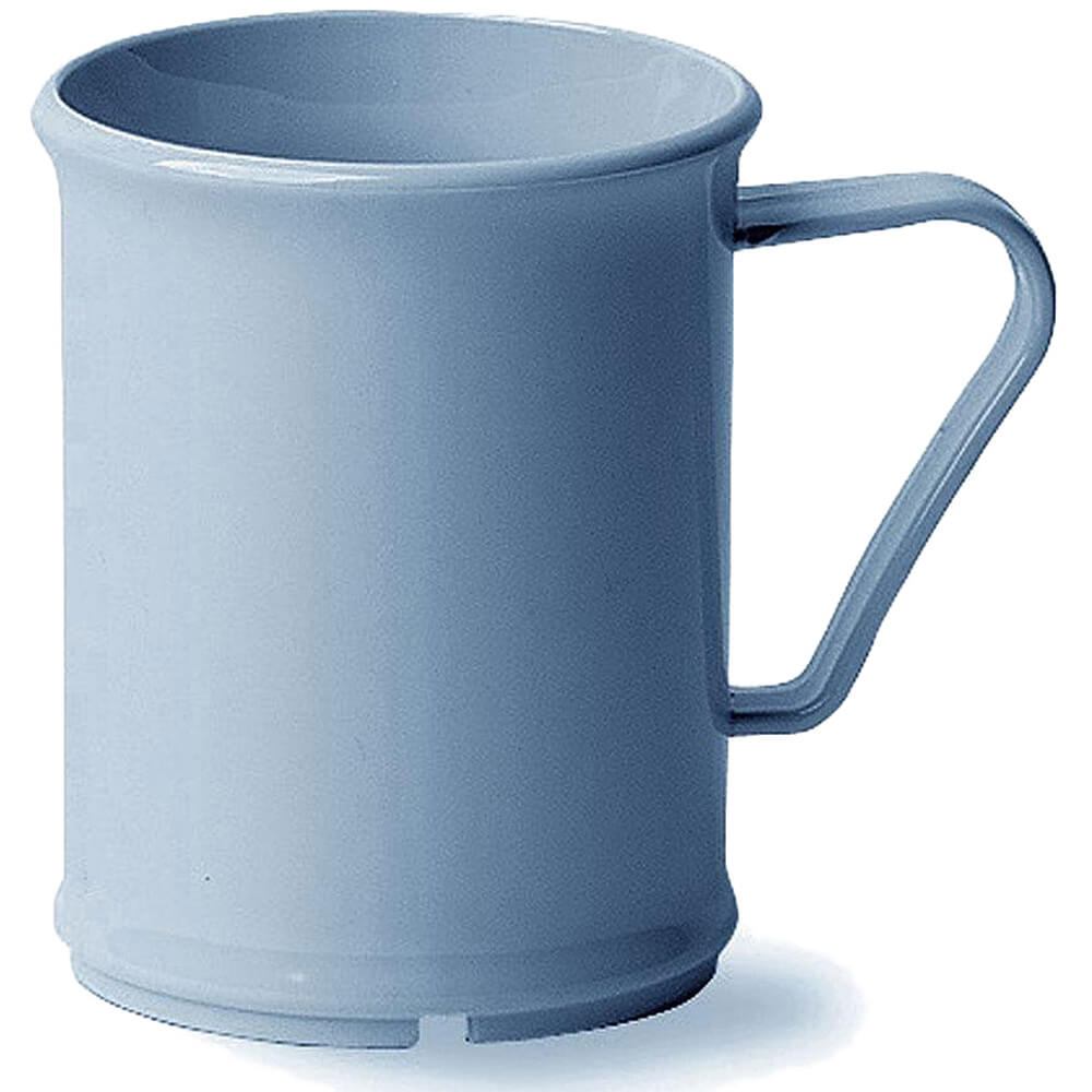 Slate Blue, 9.6 Oz. Unbreakable Coffee Mugs, 48/PK
