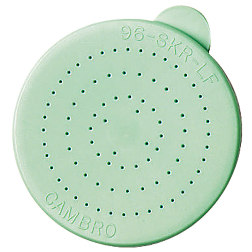 Green, Replacement Lids, Fine Ground, 12/PK