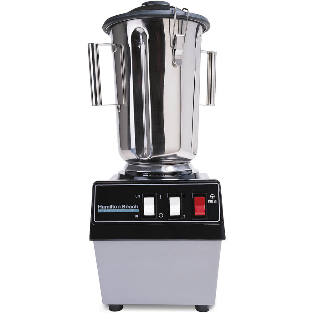 Stainless Steel, 1 Gal. High Capacity Food Processor / Blender