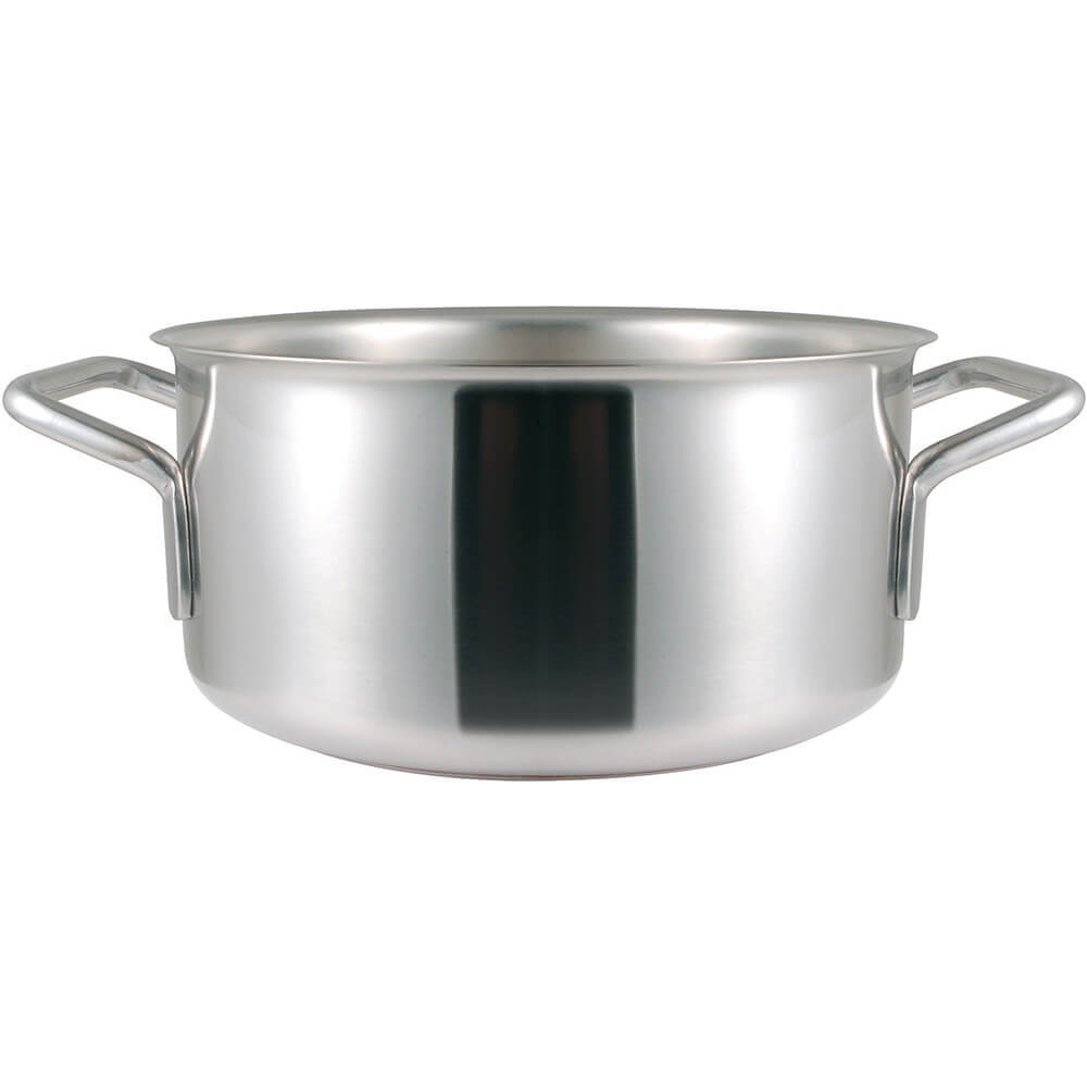 Stainless Steel, 18/10 Steel Catering Braiser / Stew Pot, 5.38 Qt. View 2