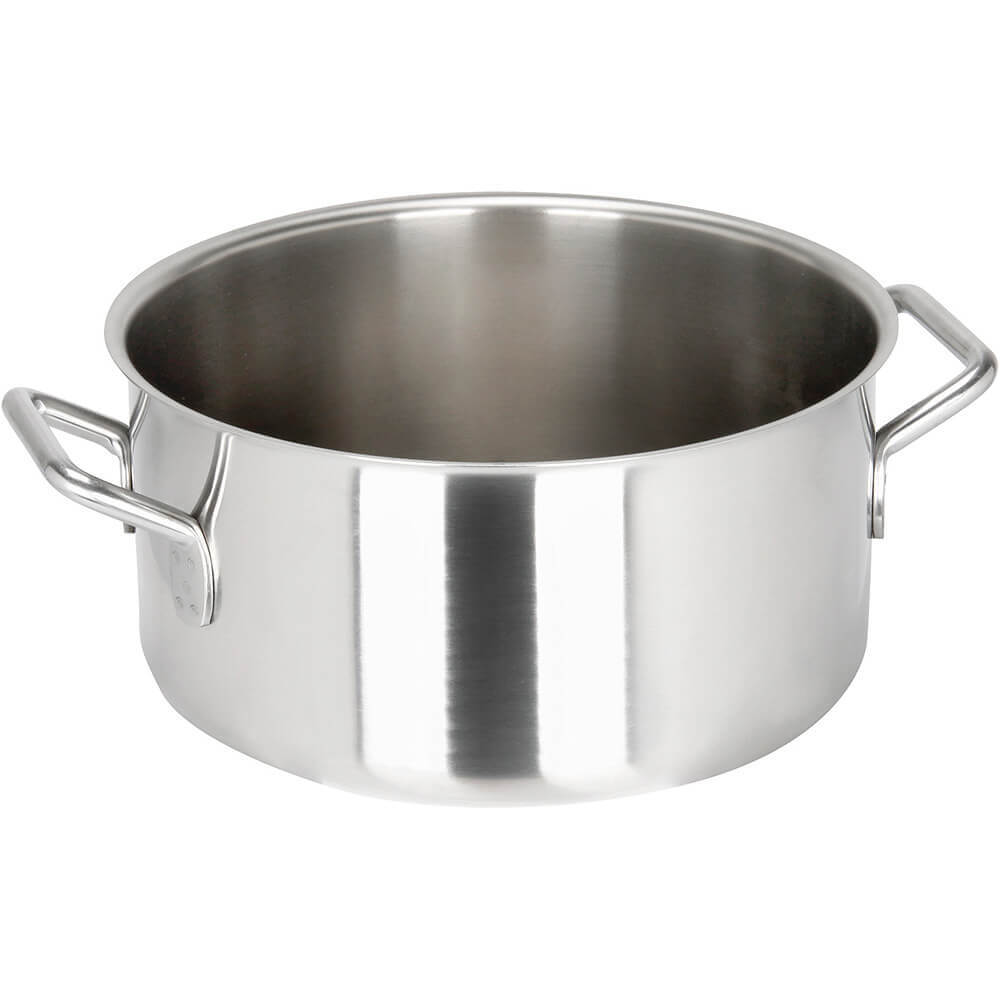 Stainless Steel, 18/10 Steel Catering Braiser / Stew Pot, 5.38 Qt.