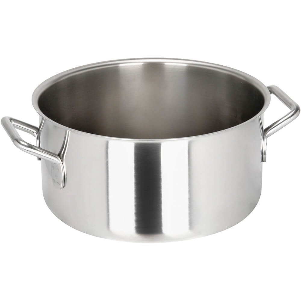 Stainless Steel, 18/10 Steel Catering Braiser / Stew Pot, 10.98 Qt.