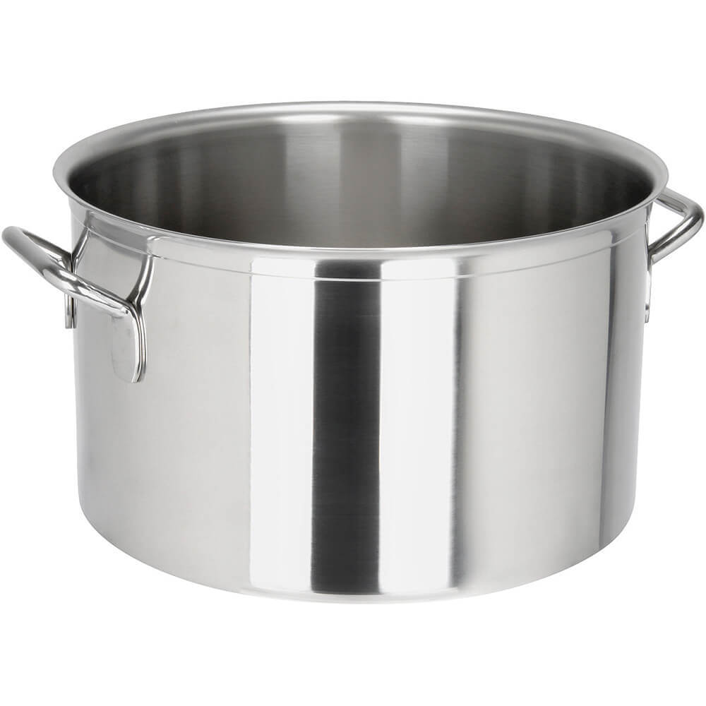 Stainless Steel, 18/10 Steel Catering Braiser / Stew Pot, 19.76 Qt.