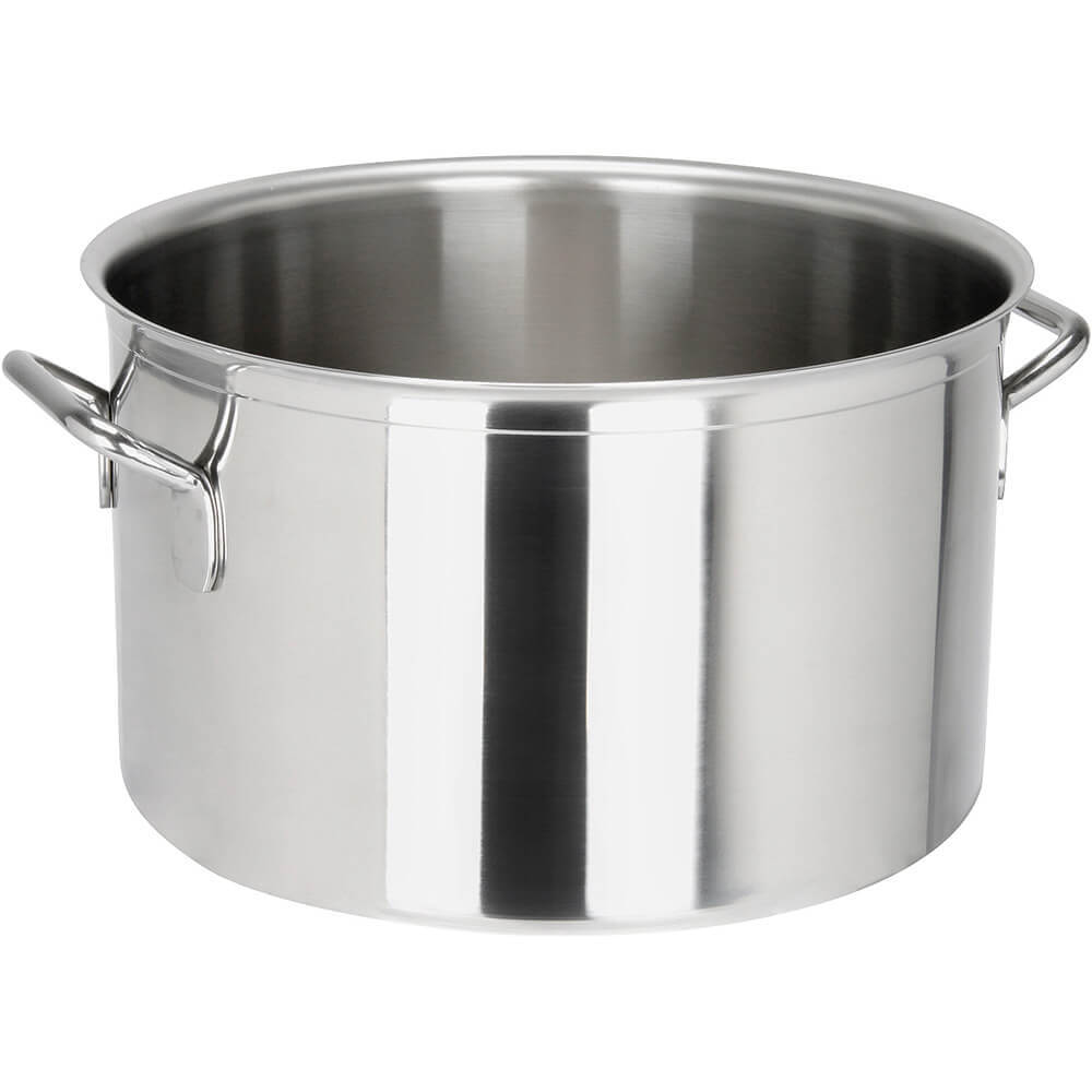 Stainless Steel, 18/10 Steel Catering Braiser / Stew Pot, 24.83 Qt.
