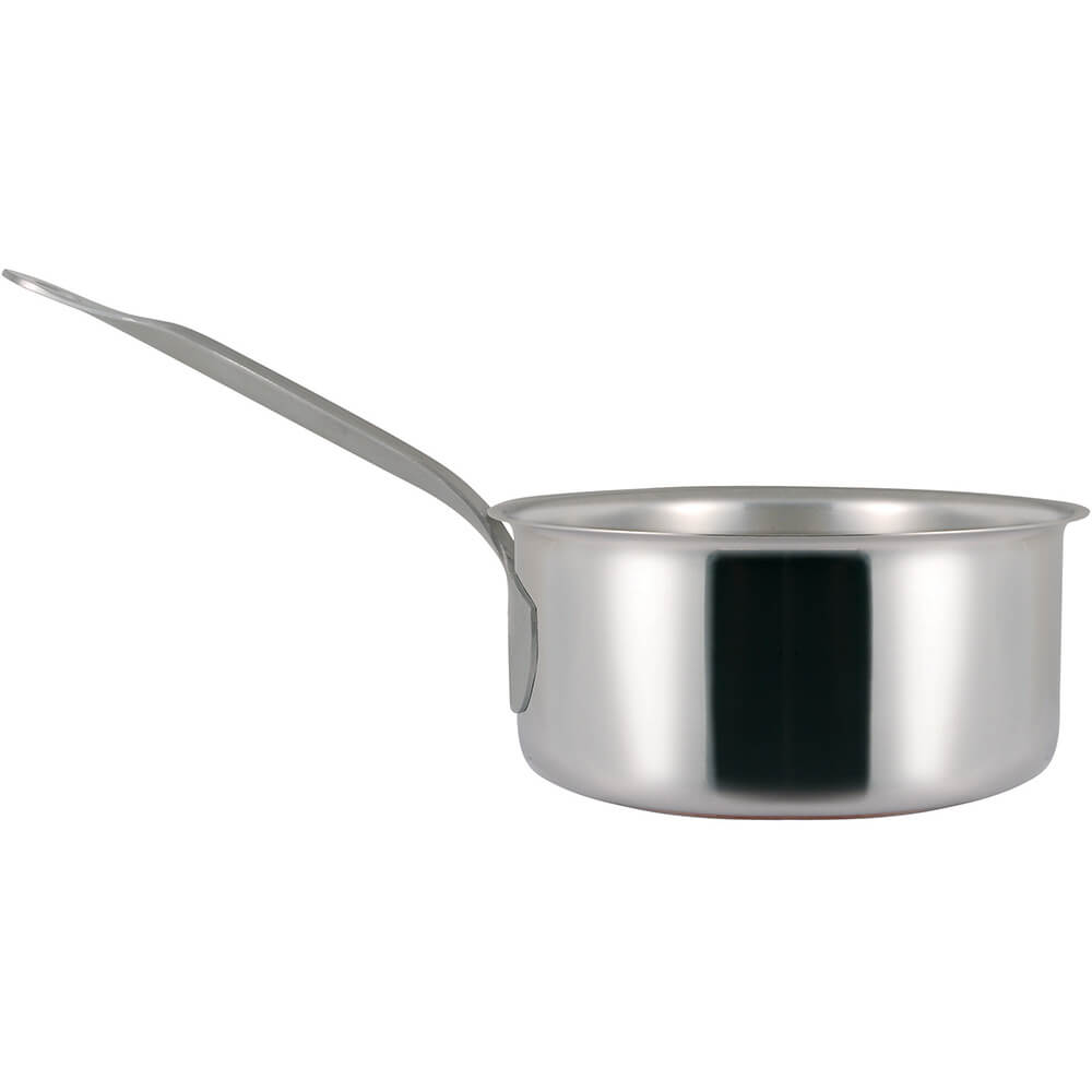 Stainless Steel, 18/10 Steel Catering Saucepan, 2.11 Qt. View 2