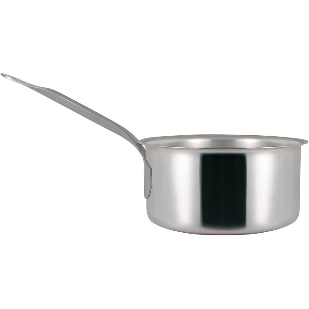 Stainless Steel, 18/10 Steel Catering Saucepan, 5.38 Qt. View 2