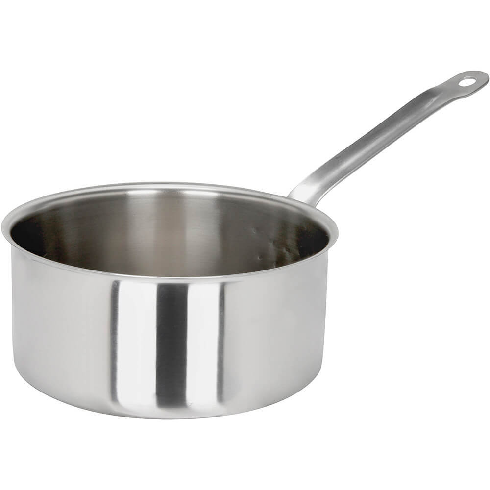 Stainless Steel, 18/10 Steel Catering Saucepan, 2.95 Qt.