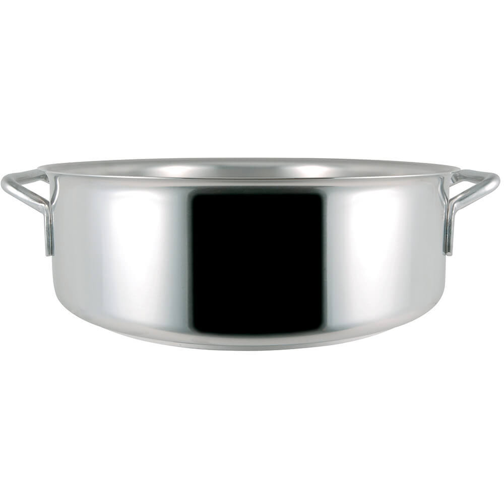 Stainless Steel, 18/10 Steel Catering Rondeau, 7.92 Qt. View 3