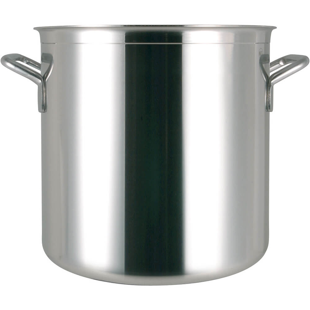 Stainless Steel, 18/10 Steel Catering Stock Pot, 52.83 Qt.