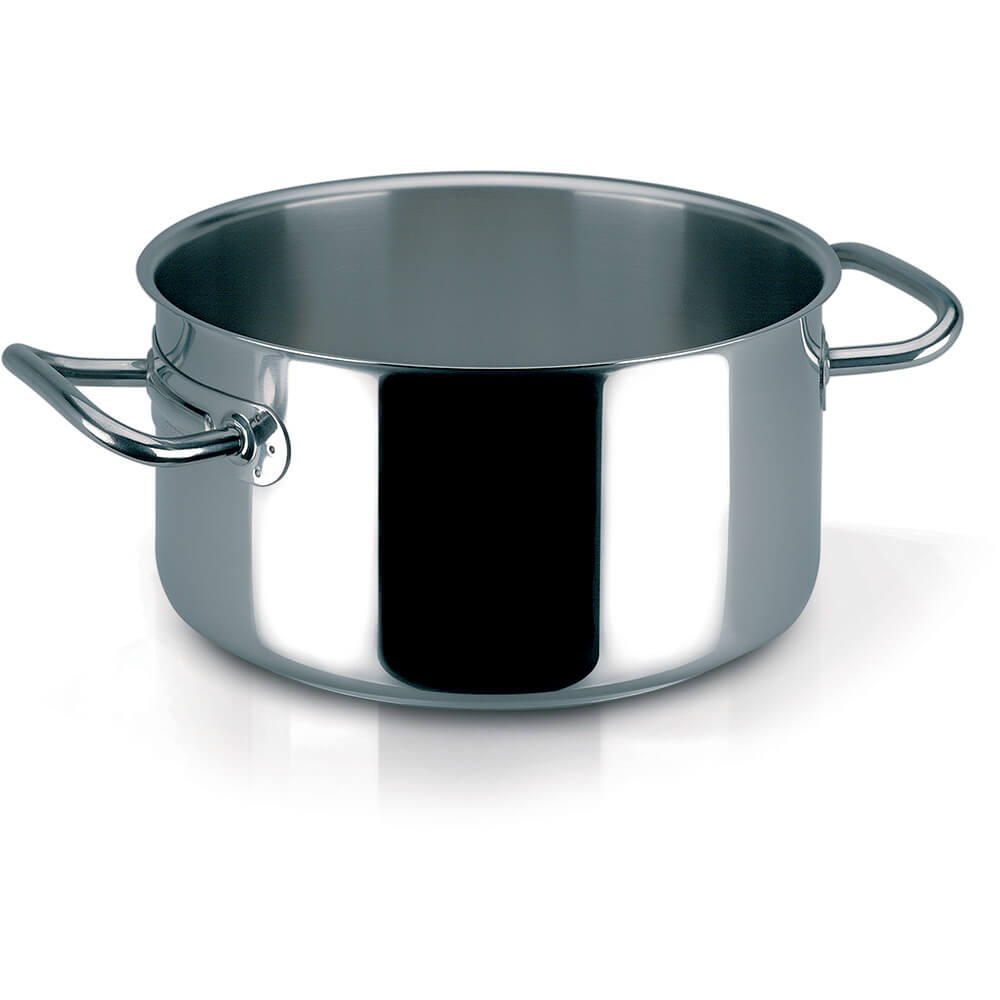 Stainless Steel, 18/10 Steel Profiserie Braiser / Stew Pot, 26.4 Qt.