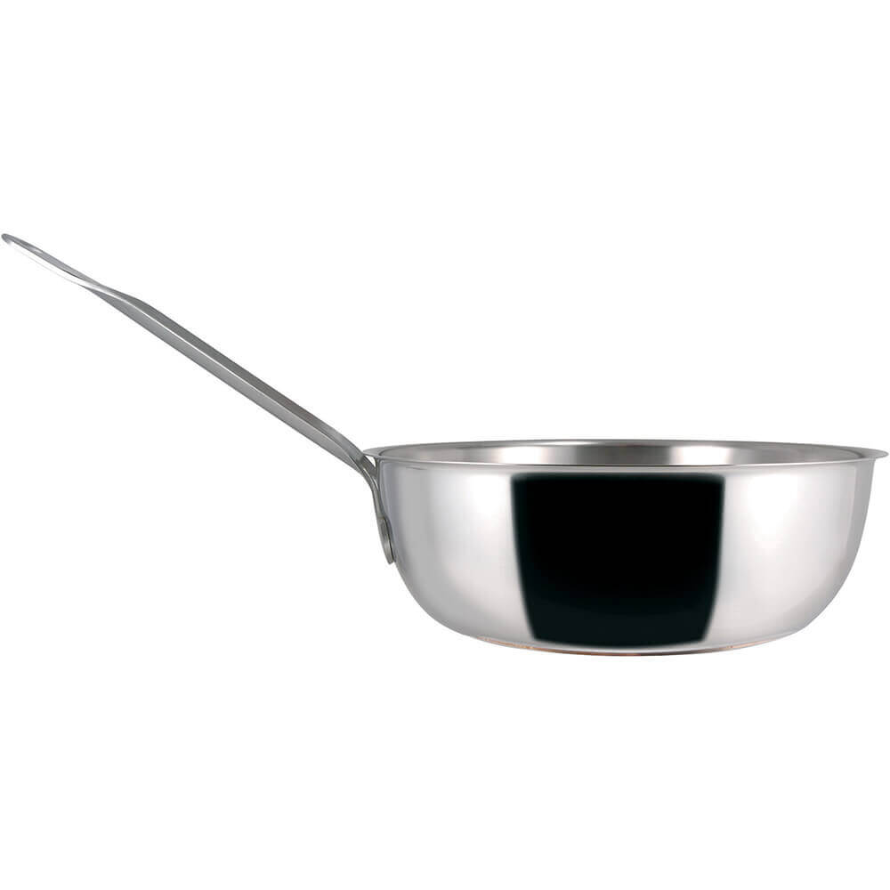 Stainless Steel, 18/10 Steel Catering Saucier Pan, 3.27 Qt.