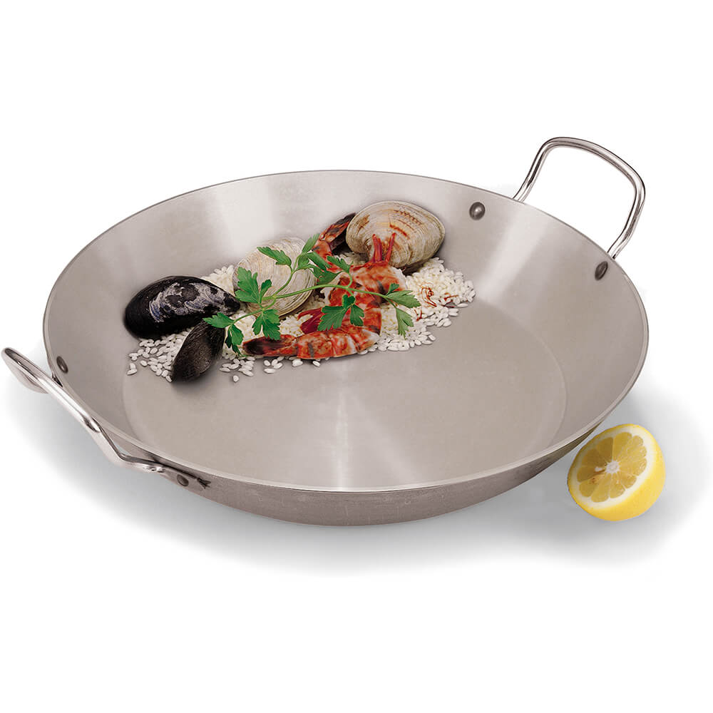 Carbon Steel Paella Pan, 14.12""