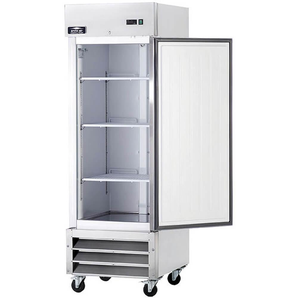 Stainless Steel, Reach-in Single Door Refrigerator View 2