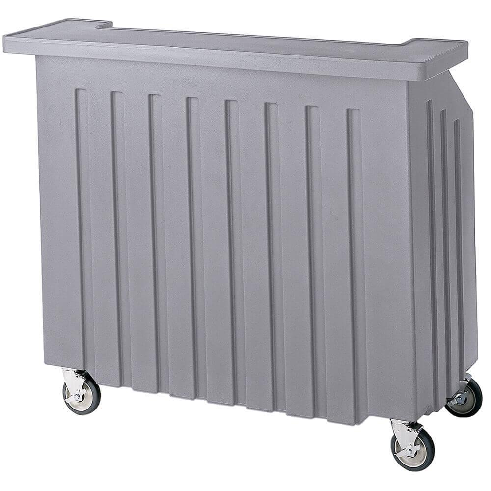 Gray, Small Portable Bar, Indoor / Outdoor Bar