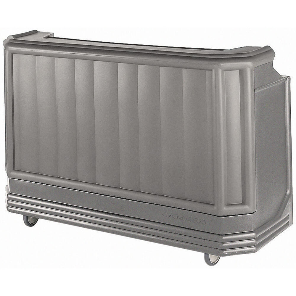 Granite Gray, Mid-size Portable Bar, Post-Mix, Tank and Pump 110V