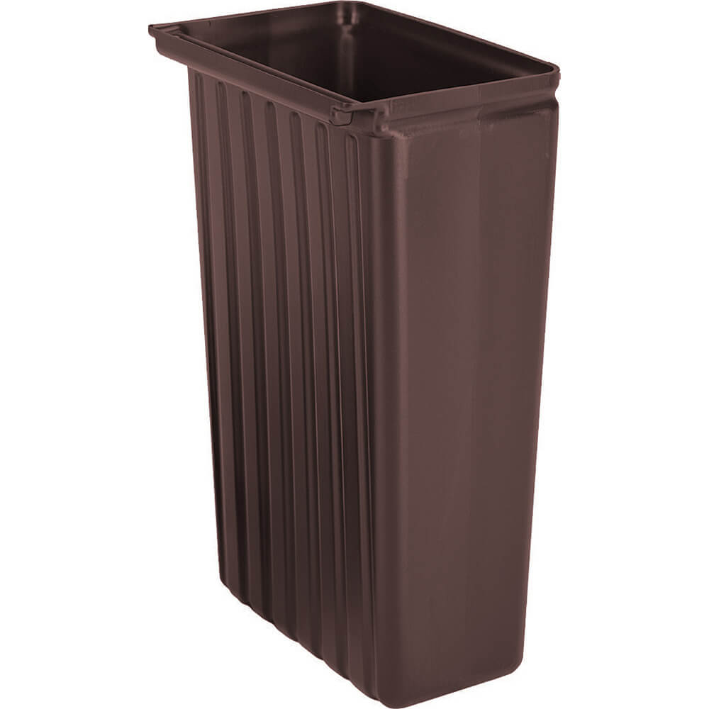 Dark Brown, 11 Gal. Trash Container