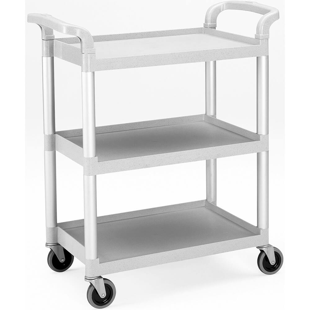 Gray, Utility / Service Cart, Knocked Down