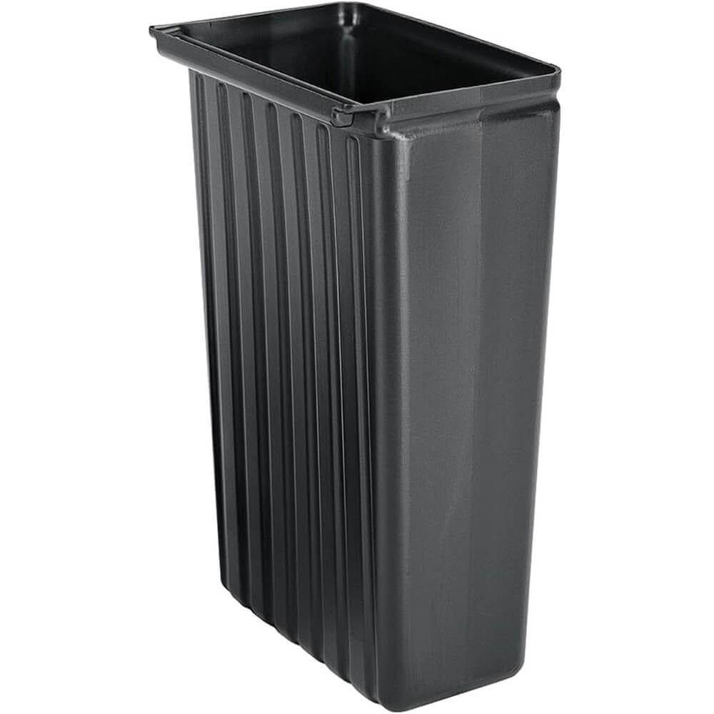 Black, 8 Gal. Trash Container