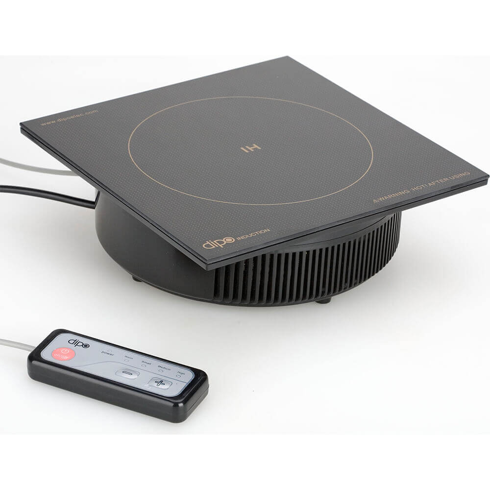 1500W Drop-in Induction Cooktop For Shabu Shabu, Separate Mounted Controls