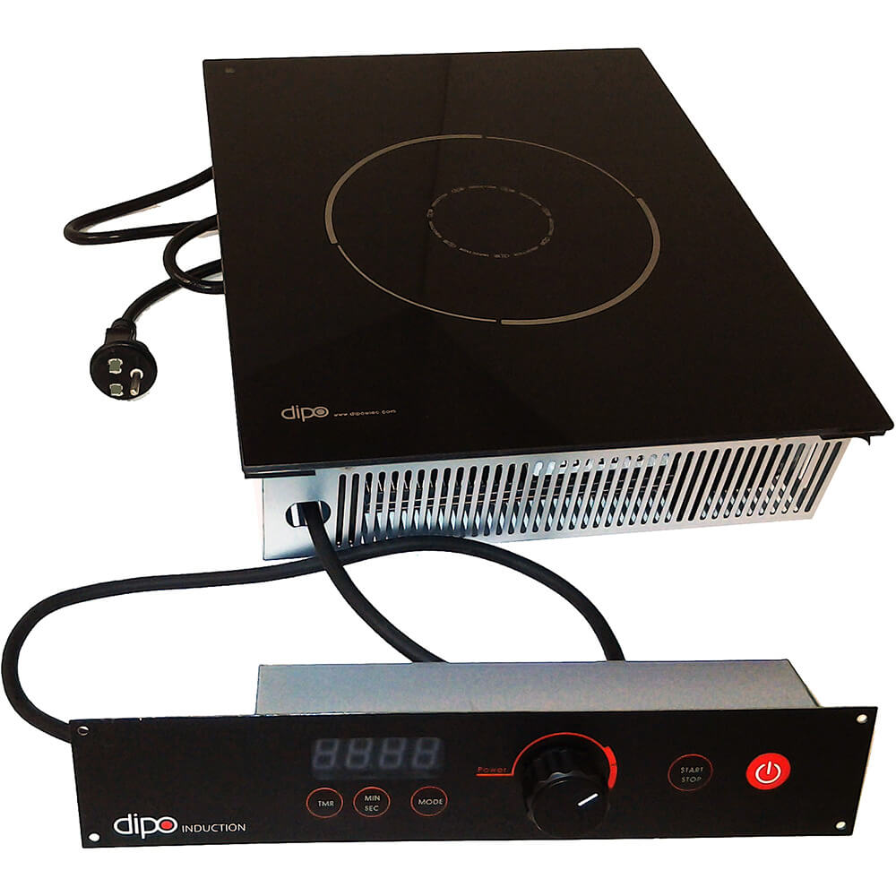 Drop-in Induction Food Warmer, Separate Mounted Controls, 120V