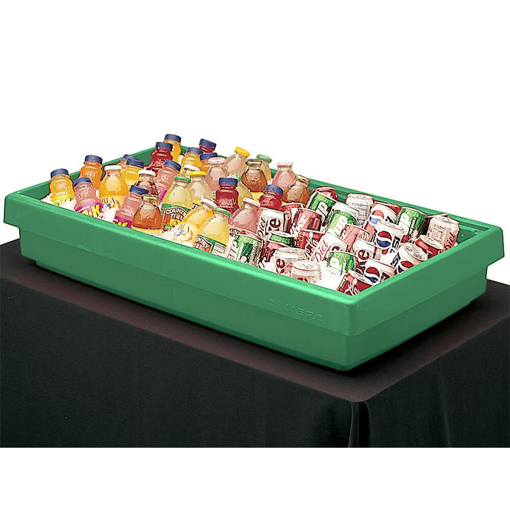 Green, Large Table Top Buffet Bar Base