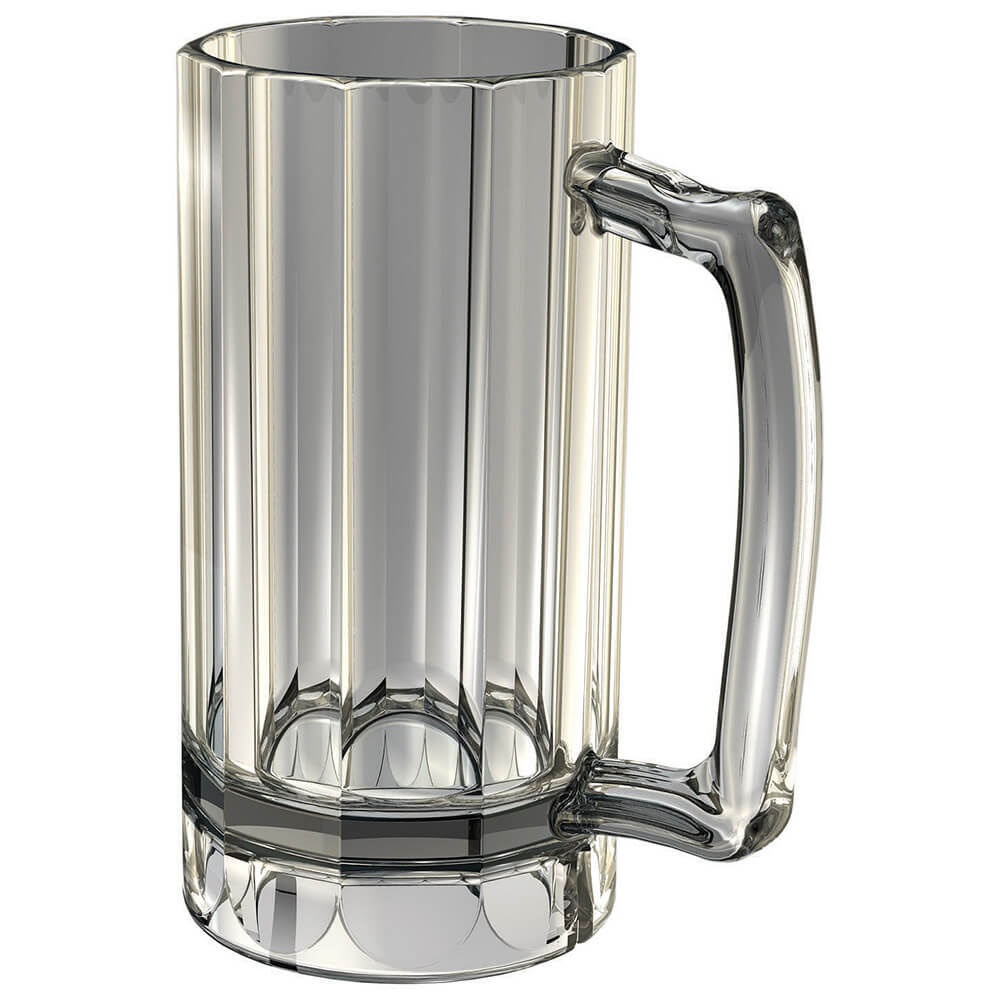 Clear, Beer Mugs, Camwear Aliso Barware 12/PK