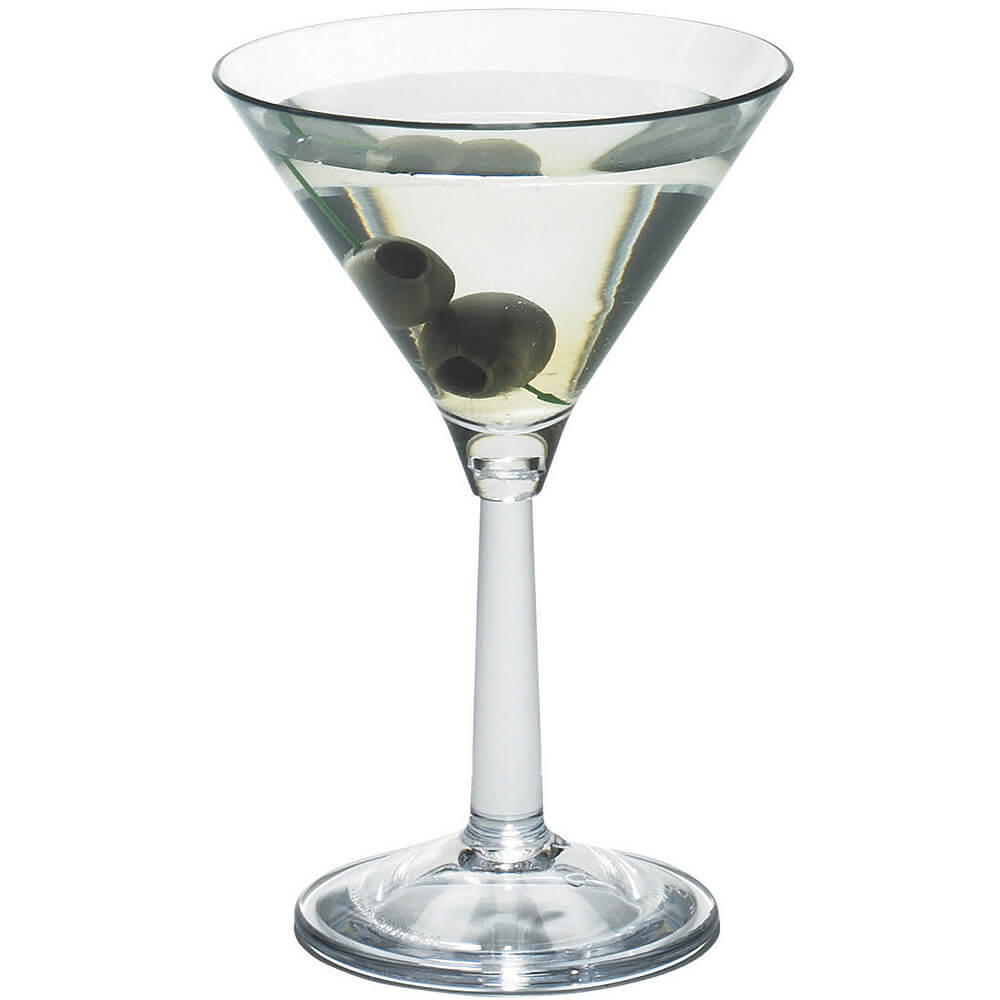 Clear, Martini Glass, Aliso Barware, 12/PK