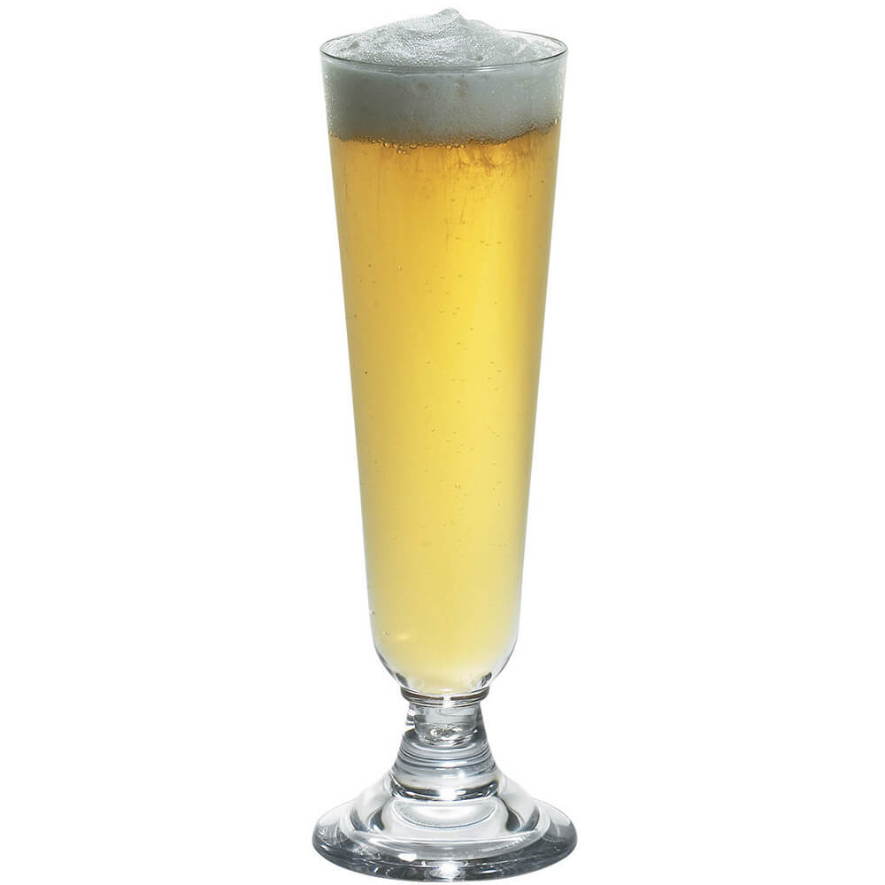 Clear, Pilsner Glass, Aliso Barware, 24/PK