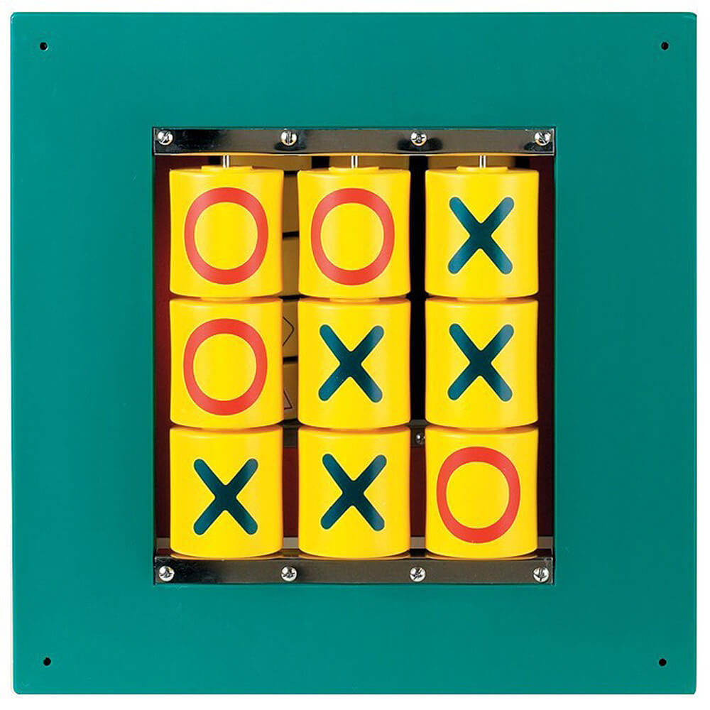 Busy Cube - Tic-Tac-Toe Wall Panel