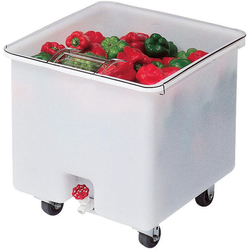White, Camcrisper Bulk Produce Bin, 32 Gallon Capacity