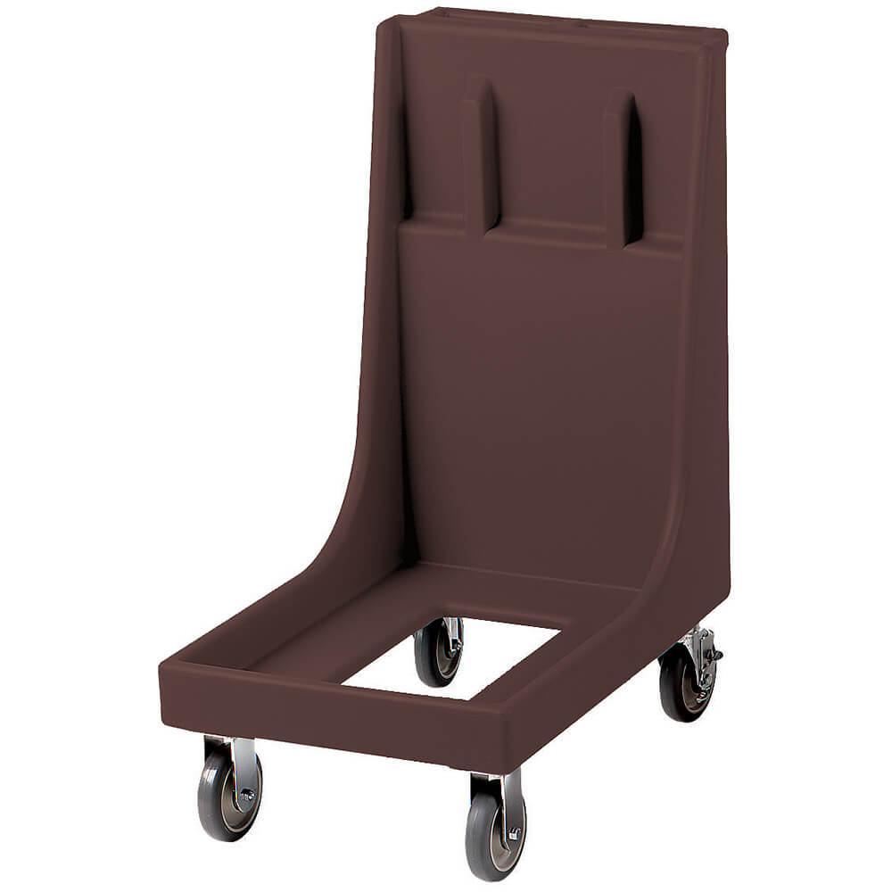 "Dark Brown, 19"" x 30-1/8"" Dolly, Molded Handles, 350 Lb Capacity"