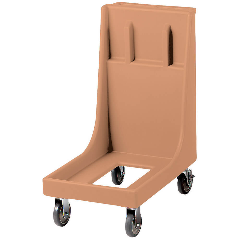 "Coffee Beige, 19"" x 30-1/8"" Dolly, Molded Handles, 350 Lb Capacity"