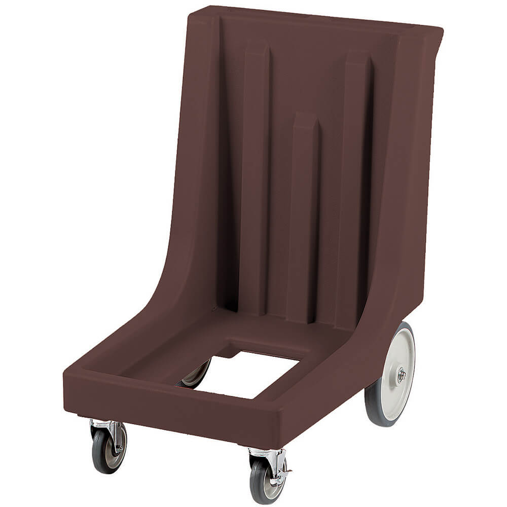 "Dark Brown, 23-1/2"" x 29-7/8"" Dolly, Molded Handles, 350 Lb Capacity"